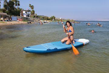 חוף ספורט ימי בכנרת