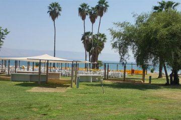 חופים מסודרים בטבריה